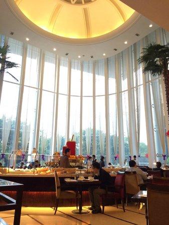 Grand Mercure Shenzhen Oriental Ginza : place for breakfast (1f)