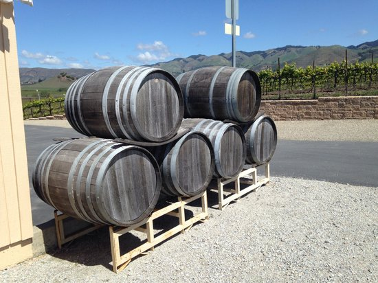 Wolff Vineyards: Wine drums