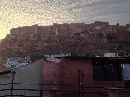 Gouri Heritage Haveli : Blick von der Terrasse