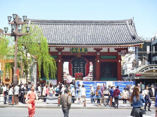 Asakusa : 浅草寺の雷門