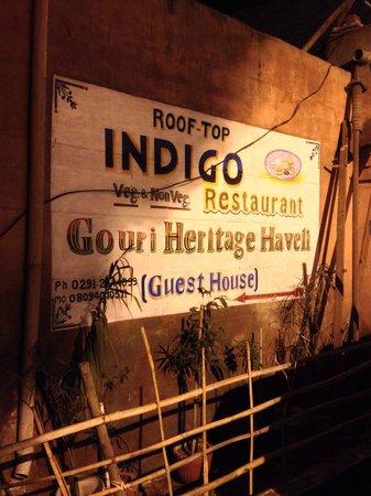 Gouri Heritage Haveli : Eingang