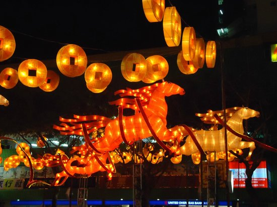 Santa Grand Hotel Lai Chun Yuen: Chinatown for Chinese New Year