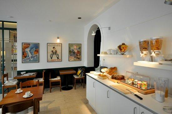 Hotel LePrince: Buffet du petit déjeuner