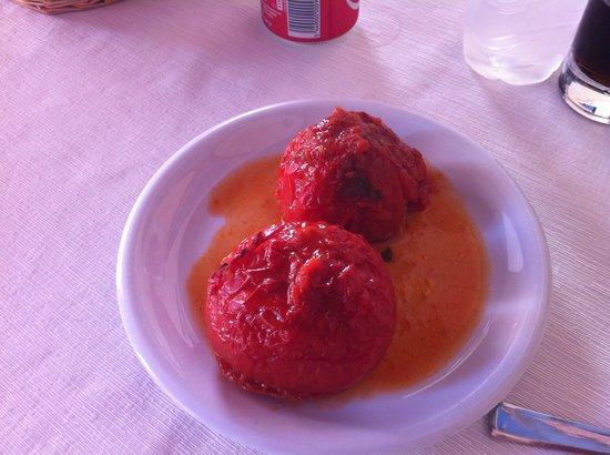 Timi's Place Restaurant: Yemista (stuffed tomatoes)