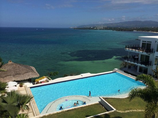 Cohiba Villas: view from apartment 18