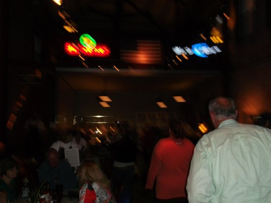 WireGrass Restaurant and Bar: Inside.