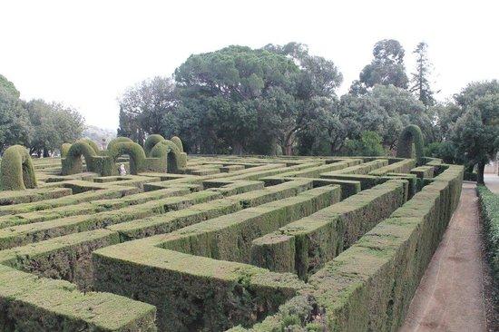 Parque del Laberinto de Horta: Encantador laberinto, un día genial