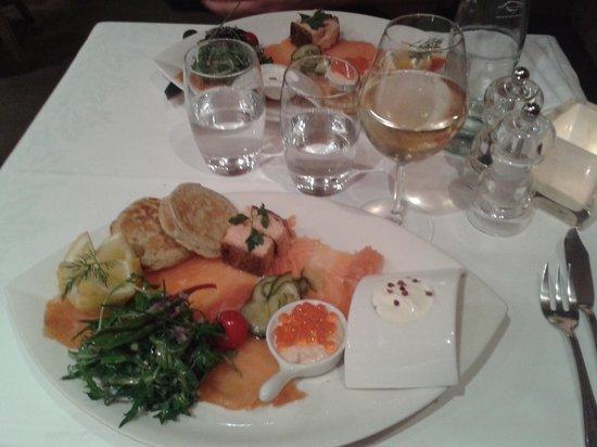 Laksøn : un des plats,  saveurs nordique, un régal