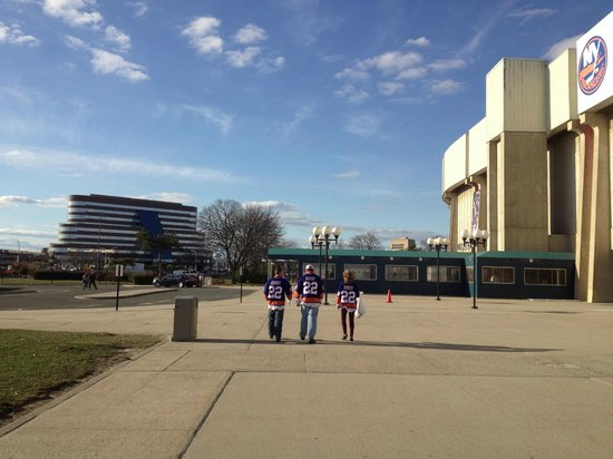 Nassau Veterans Memorial Coliseum : Гостиница Мэрриотт