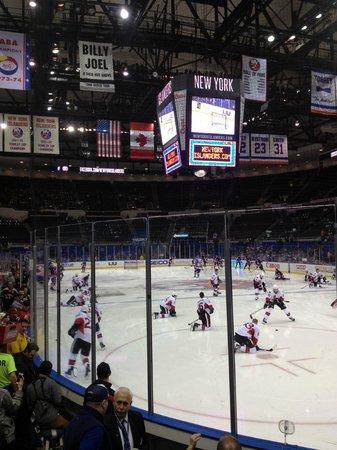 Nassau Veterans Memorial Coliseum : Арена с удобным обзором