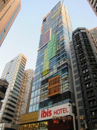 Ibis Hong Kong Central & Sheung Wan Hotel : 香港上環宜必思酒店