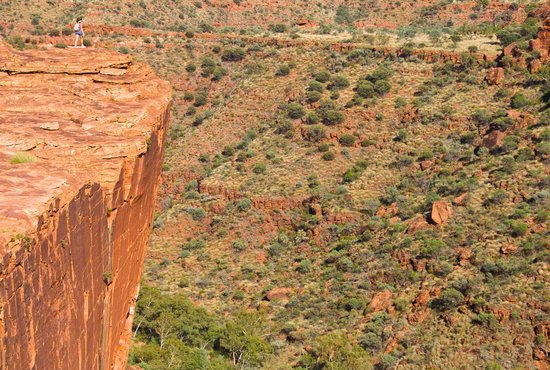 Red Centre, Australië: South wall view