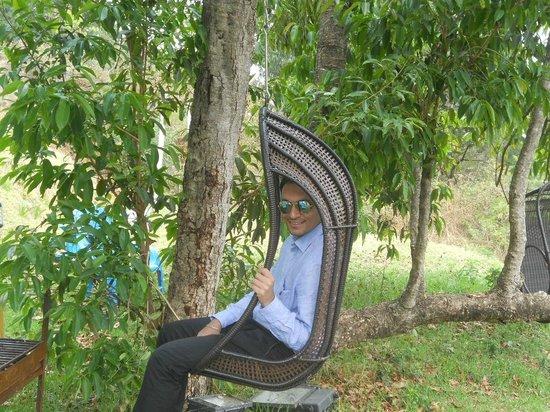 Mount 'n' Mist : Kashif...Relaxing in Garden
