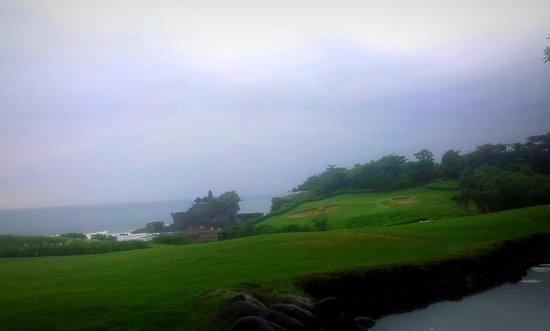 Pan Pacific Nirwana Bali Resort : Stunning View from Merica Restaurant