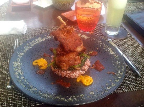 Pan Pacific Nirwana Bali Resort : Crispy Bebek Goreng a signature of Merica Restaurant