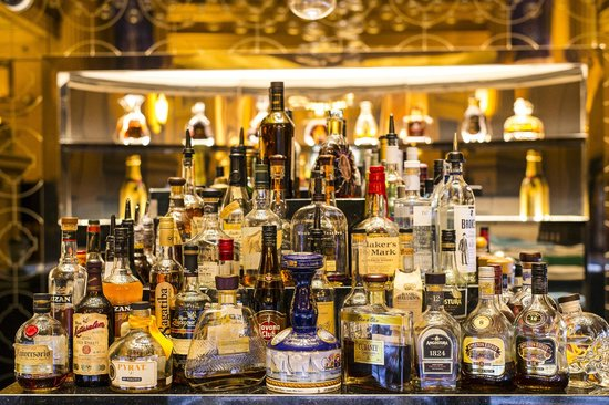 Wide selection of spirits - Picture of Chandelier Bar, Adelaide ...