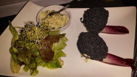 Kyriad Dieppe: Oeufs grillés aux graines de pavot Original