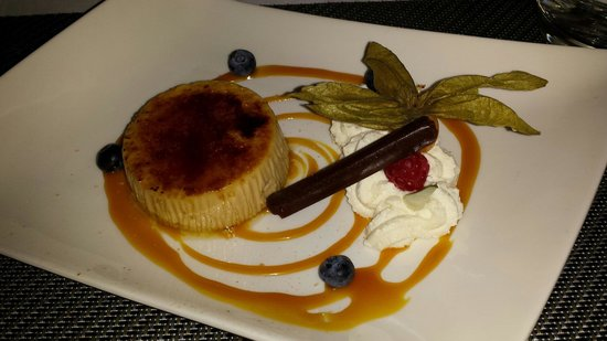 Kyriad Dieppe: Crème brûlée au carambar