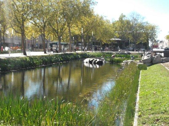 La Roche-sur-Yon, France : l'hippopotame