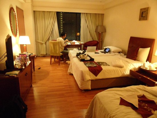 Century Park Hotel: My room at 14th floor