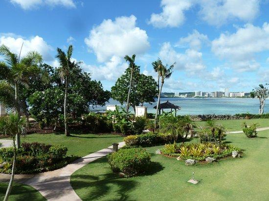 Hilton Guam Resort & Spa : Ausblick Zimmer Tasi Club