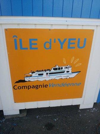 Ile d'Yeu: le panneau