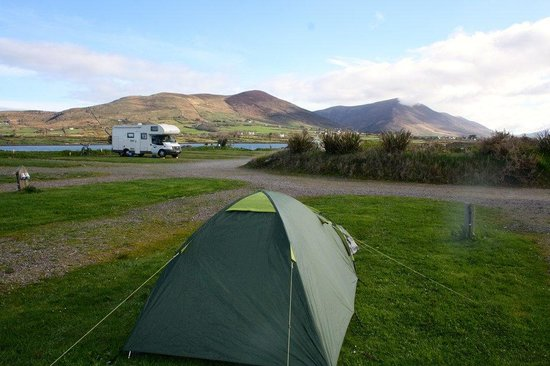 Mannix Point Camping and Caravan Park. (Mortimer's): The view from our tent
