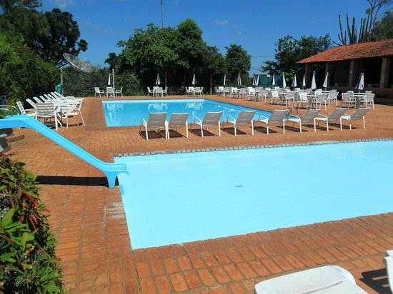 Hotel Colonial Iguaçu : piscina descoberta