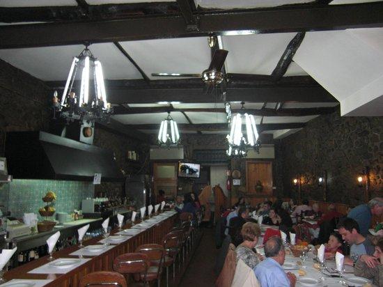 Restaurante A Ceia: Vista general desde la puerta