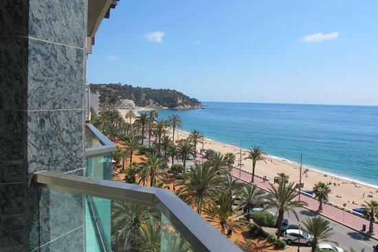 Hotel Miramar: vista terraza habitación