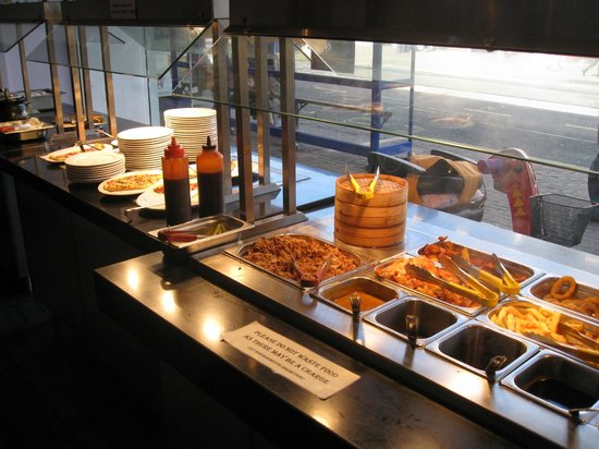 Buffet Time: Great selection at the buffet.