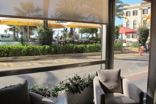 Hotel Miramar: recepción