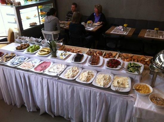 Blu Hotel Istanbul: Leckeres Frühstücksbuffet
