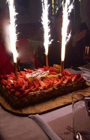 Relais de Chavannes : gâteau surprise