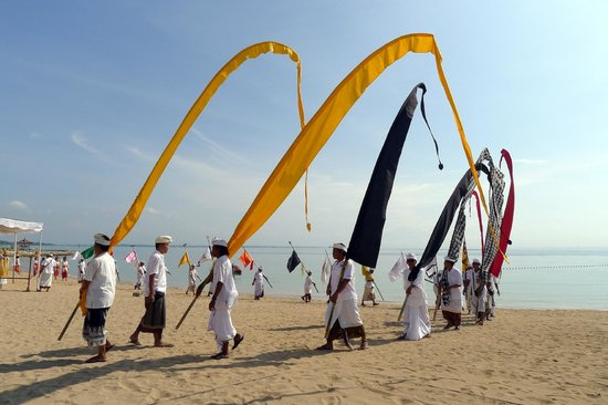 The Westin Resort Nusa Dua, Bali : Ceremony on the beach