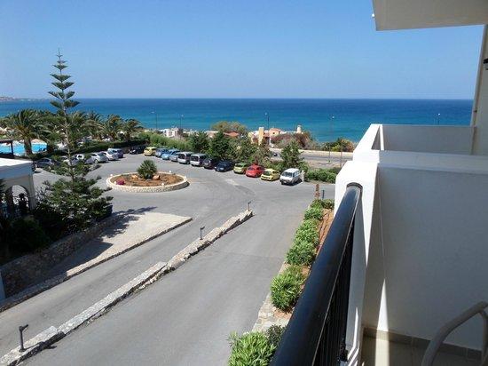 Mediterraneo Hotel: uitzicht hotel