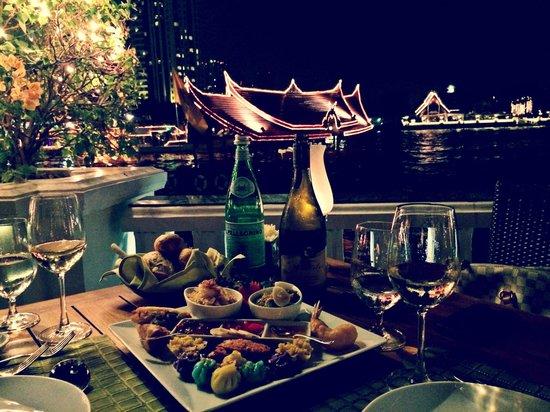 Mandarin Oriental, Bangkok : Restaurant by the River