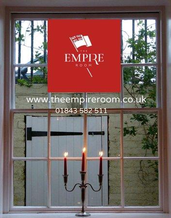 The Empire Room: window
