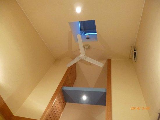 Hotel Forest Hills Nasu: 高い天井