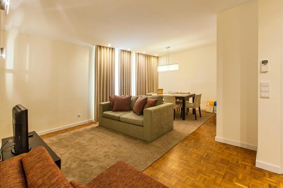 Casas do Porto - Ribeira Apartments: Living Room