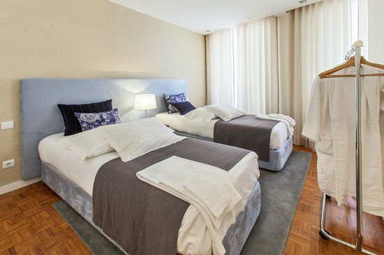 Casas do Porto - Ribeira Apartments: Twin Bedroom