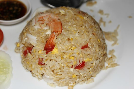 Villa Cha-Cha : fried rice with seafood (ein Muss)
