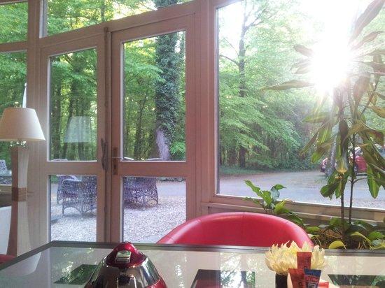 Hotel Diane: Vue de la salle des petits déjeuner