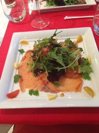 Bertrand Roy Restaurant : saumon