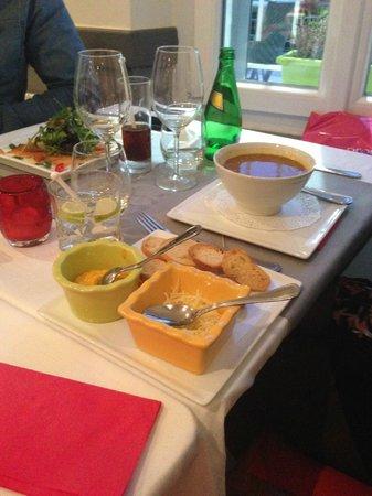 Bertrand Roy Restaurant : soupe de poison maison
