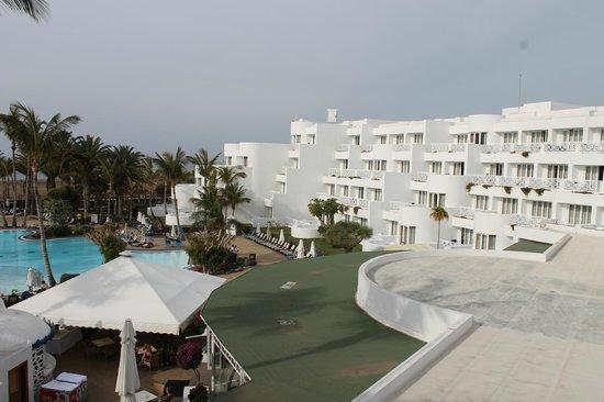 Hipotels La Geria: View from room no326 3rd floor