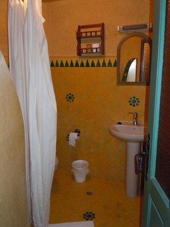 Riad Al Madina : Salle de bain/wc - Chambre 54