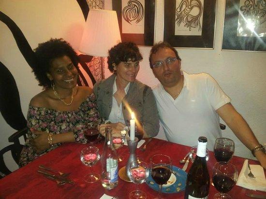 En la Penyora con mi amiga Yamila y su esposo