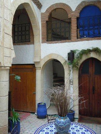 Riad Al Madina : Un des accès aux étages