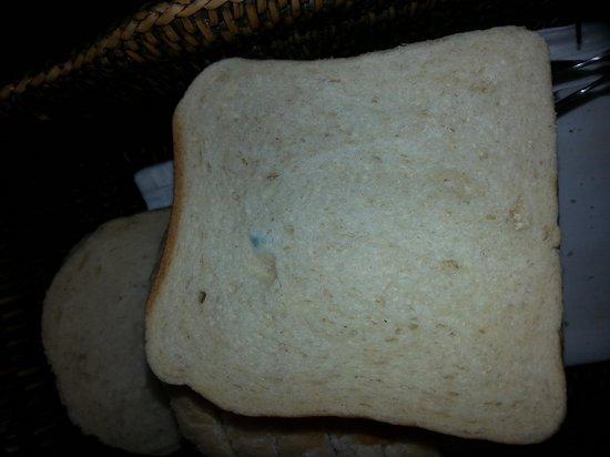 Hotel&Villa Auersperg : Hotel delicacy - white moldy bread